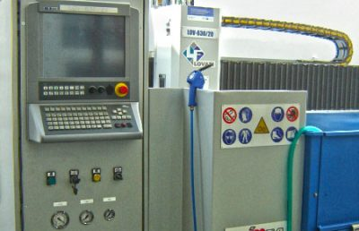 Brousící a leštící stroj Lovati LOV-630/20